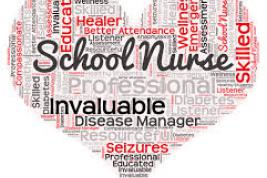 School Nurse image of heart